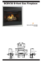 Hearth and Home Technologies B-Vent Gas Fireplace BCBV36 manuals