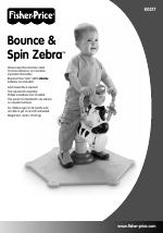 fisher price bounce spin zebra k0317 manuals rh manualsdir com Jump and Bounce Zebra Bounce and Spin Zebra