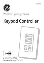 Ge 45631 wave wireless lighting Lighting Control Ge Manualsdircom Ge 45631 Ge Zwave Wireless Keypad Controller Manuals