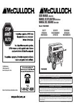 Mcculloch generator fg5700ak manual