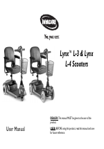 Invacare Lynx L-4 User Manual   56 pagesManuals Directory