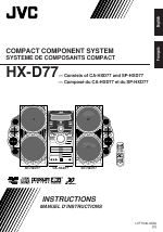 Jvc hx-d77 owners manual.