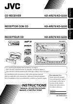 jvc kd ar270 user manual 50 pages also for kd g220 rh manualsdir com JVC RM RK50 Manual JVC Car CD Radio Sirius