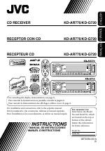 jvc kd g720 manuals rh manualsdir com JVC KD R330 Accessories jvc kd-g720 user manual