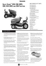 pdf download john deere select series x320 user manual 2 pages rh manualsdir com john deere x320 service manual john deere x320 manual download