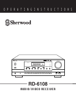 sherwood rd 6108 manuals rh manualsdir com