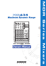 Samson mdr624 manuals.