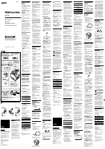 pdf download sony dream machine icf c318 user manual 2 pages rh manualsdir com sony dream machine icf c318 manual set time sony dream machine icf-c318 manual