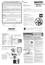 pdf download sanyo ds24205 user manual 2 pages rh manualsdir com