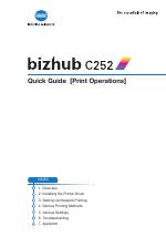 pdf download konica minolta bizhub c252 user manual 96 pages rh manualsdir com bizhub c252 service manual download Bizhub 200