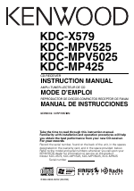 pdf download kenwood kdc mpv5025 user manual 116 pages also rh manualsdir com Kenwood KDC Bt648u Kenwood KDC- 152