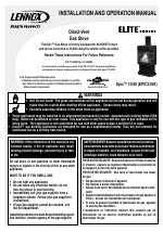 Lennox Hearth EPIC40 manuals