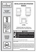 Lennox Hearth WHITFIELD 20 FS 2 manuals