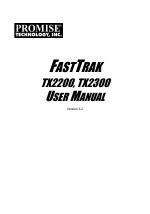 Winxp promise fasttrak 378 controller