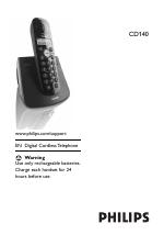 philips cd140 user manual 32 pages rh manualsdir com manual telefone philips cd140 dect 6.0 manual instrucciones telefono philips cd140