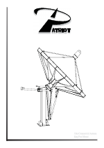 Patriot Products Patriot 3 8m Commercial Antenna King Post