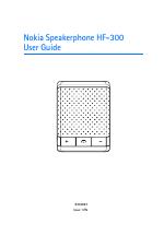 nokia hf 300 manuals rh manualsdir com Nokia AT&T Manual Nokia Lumia 521 Manual