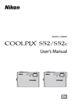 nikon coolpix s52c user manual 147 pages also for coolpix s52 rh manualsdir com Nikon Coolpix L30 Manual Nikon Camera Manual