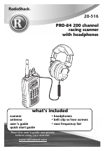 radio shack pro 84 user manual 64 pages rh manualsdir com Radio Shack Electronic Parts radio shack scanner pro 84 manuels