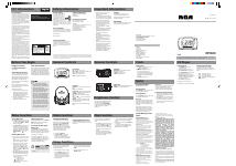 pdf download rca rp5600 user manual 1 page rh manualsdir com rca cd clock radio rp5600a manual