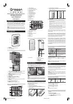 pdf download oregon scientific rmr683hga user manual 2 pages rh manualsdir com