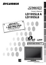Sylvania ld195sl8 a manuals.