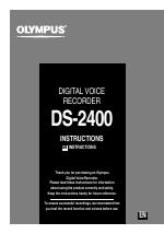 olympus ds 2400 user manual 64 pages rh manualsdir com  Olympus Digital Dictaphone