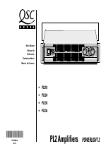 pdf download qsc audio pl236 user manual 40 pages rh manualsdir com