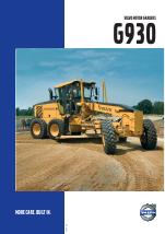 pdf download volvo motor graders g930 user manual 10 pages rh manualsdir com 2001 Volvo G80 Motor Grader Volvo G930b Grader
