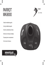 Mki9000 lcd bluetooth handsfree car kit | parrot official.