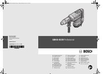Pdf Download | Bosch GBH 8-45 DV Professional User Manual