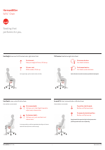 Herman Miller SAYL Chairs User Adjustments manuals