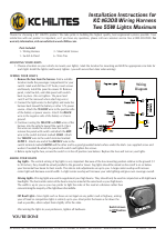 KC HiLiTES KC #6308 Wiring Harness Two 55W Lights Maximum ... on kc lights wiring diagram guide, kc light wiring harness, kc driving lights wiring,