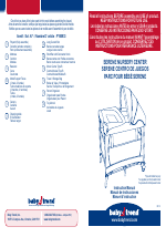 Babytrend Py85933 Serene Nursery Center Mod Bug User Manual