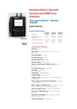pdf download atec tektronix ths730a user manual 3 pages rh manualsdir com QWERTY Phone Tektronix THS720A Manual