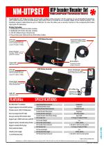 UTPSET NetMedia UTP Encoder /& Decoder Set