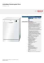 Bosch Sms50d32eu Silenceplus Activewater Geschirrspuler 60 Cm