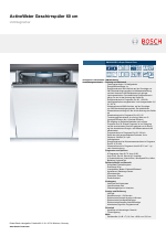 bosch smv69u50eu super silence plus activewater geschirrsp ler 60 cm vollintegrierbar manuals. Black Bedroom Furniture Sets. Home Design Ideas