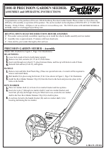 Earthway 1001 B Precision Garden Seeder manuals