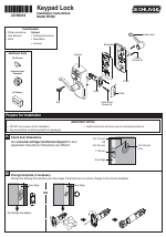schlage fe595 installation user manual 8 pages rh manualsdir com schlage fe595 installation manual schlage fe595 manual keypad