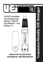 UEI Test Equipment THL2 USB Temperature Humidity Logger