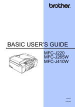 brother mfc j615w service manual