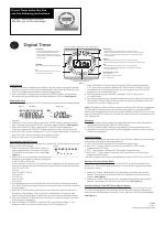 Ge Plug In Digital Timer 15089 Version 1 2 Manuals