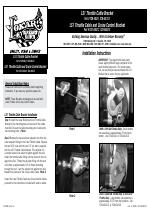 Lokar TCB-40LS1 LS1 Throttle Cable Bracket manuals