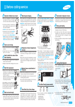 Samsung rf266aepn refrigerator original service manual download.