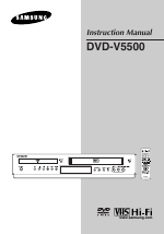 samsung dvd v5500 xaa manuals rh manualsdir com samsung c5500 manual samsung dvd vcr combo v5500 manual