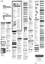 sony cdx-gt07 user manual