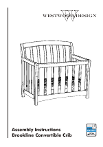 Westwood Design Brookline Convertible Crib User Manual
