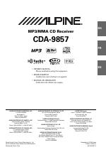 pdf download alpine cda 9857 user manual 38 pages rh manualsdir com  alpine cda 9857 manual