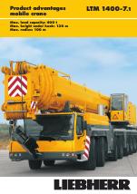 Liebherr LTM 1400-7 1 User Manual   13 pages